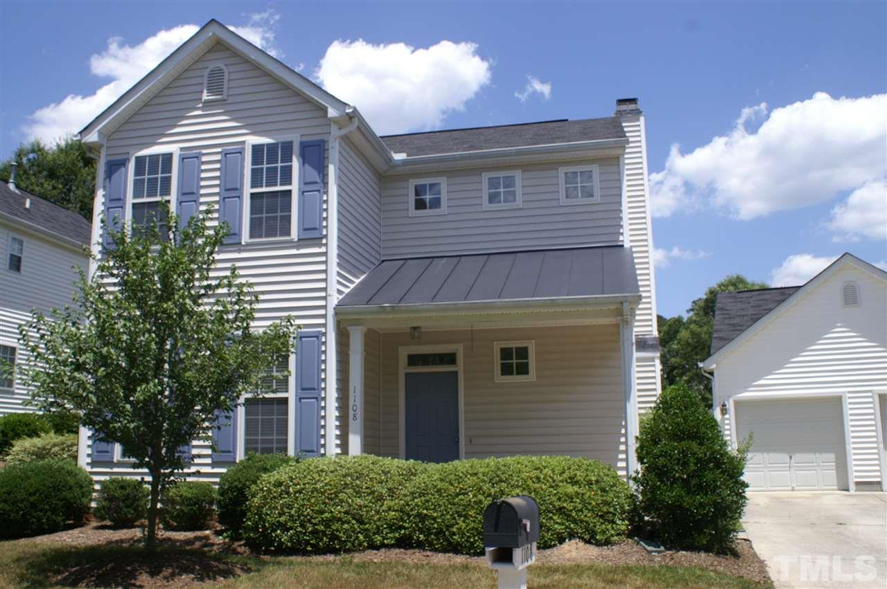 1108 silky dogwood trail apex nc fonville morisey real for Detached townhomes