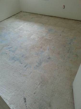 Thin Set Removal - Floor Scraping Cover Photo