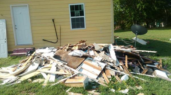 Siding   Debris Clean Up Cover Photo