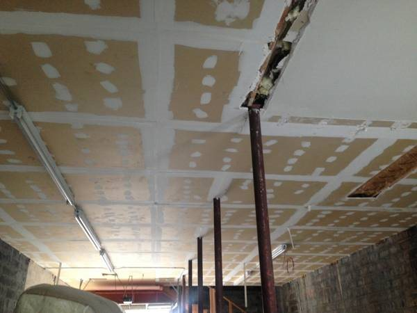 Need Affordable Bids To Finish And Paint Drywall Ceiling Cover Photo