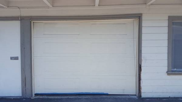 Replace 1 car Garage Door With French Door Cover Photo