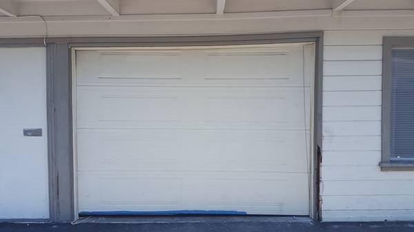 Replace 1 car Garage Door With French Door Cover Photo