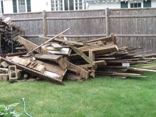 Need Deck Remains Hauled Away Cover Photo