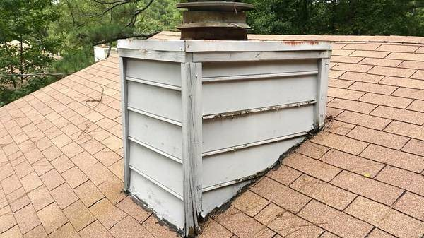 Chimney Rebuild On Roof Cover Photo