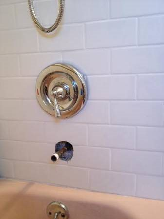 Plumber Needed To Install Shower   tub Fixtures Cover Photo