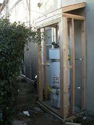 Need Outdoor Hot Water Heater Shed Built  Cover Photo