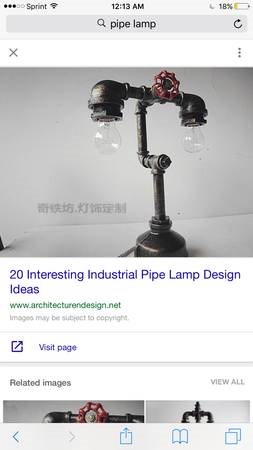 Electric Work Needed - Build a Lamp Cover Photo