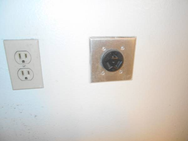 Outlet Converted For Dryer Cover Photo