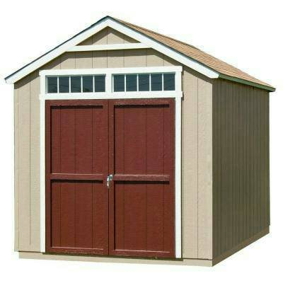 Install An 8 X 10 Wood Storage Shed  Cover Photo