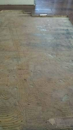 Glued Down Hardwood Flooring Removal  Cover Photo
