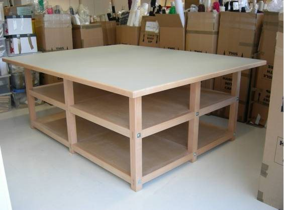 Build A Large Work Table Cover Photo
