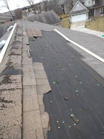 Roofer Needed To Tarp Roof Cover Photo