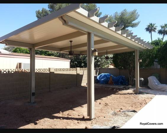 Aluminum Patio Cover Installation Cover Photo