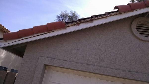 Repair Cracked Facia Board And Roof Tiles Cover Photo
