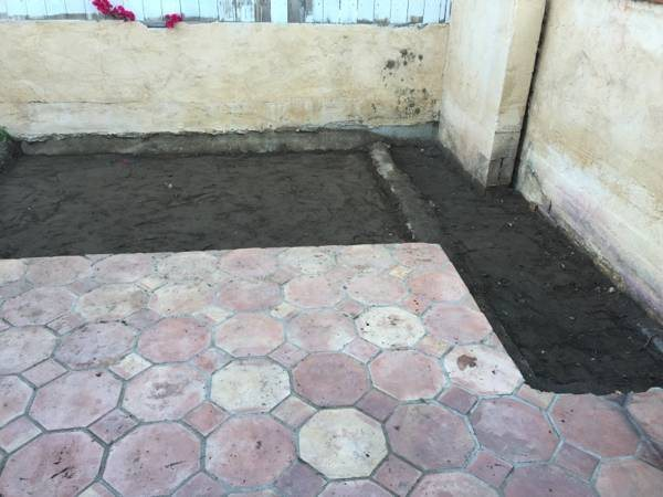 Looking For Someone To lay a Cement Patio Cover Photo