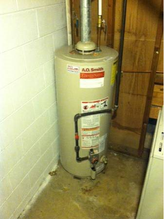 Remove Existing And Install Water Heater Cover Photo
