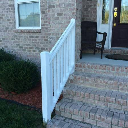Outdoor Wooden Railings Repair Cover Photo
