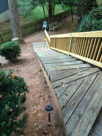 Deck Stair Replacement  Cover Photo