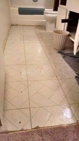 Install Tile In Bathroom Cover Photo