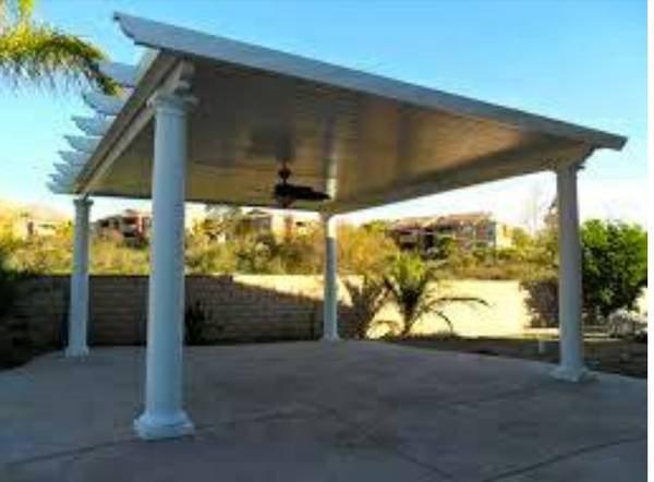 Aluminum Patio Cover Installation Cover Photo