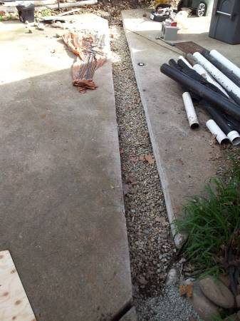 Concrete Trench Fill-in Cover Photo