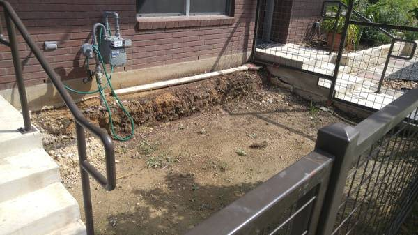 Building a Concrete Patio