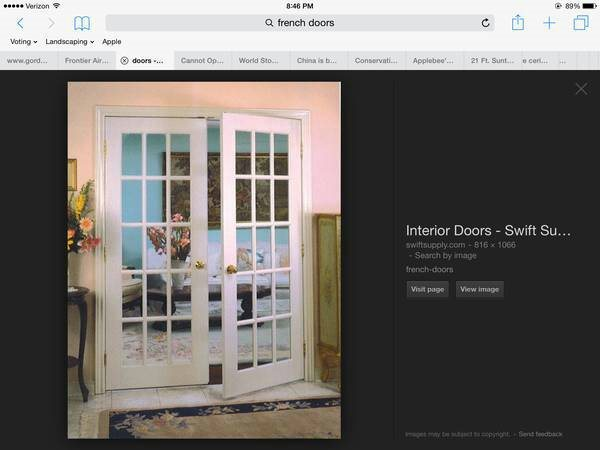 Install a set of French Doors  Cover Photo