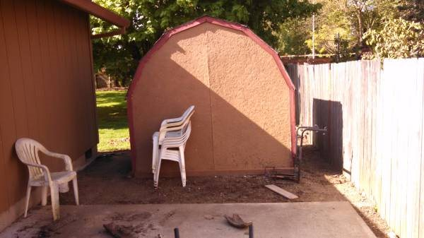 Need a 8x8 Shed Removel Cover Photo