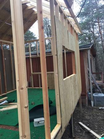 Roofer Needed to Help Finish Frame build a Shed Cover Photo
