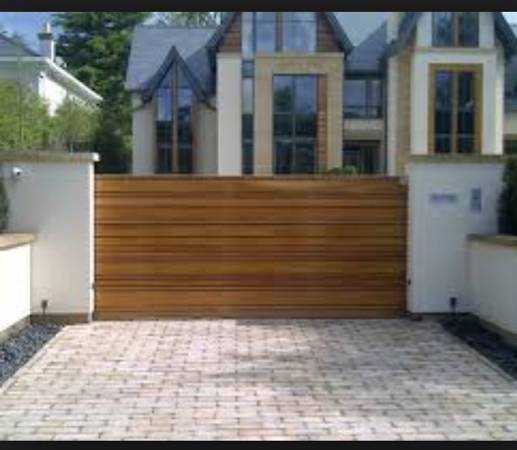 Wood Worker To Build a Wooden Sliding Driveway Gate  Cover Photo