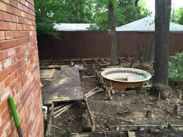 Hot Tub Removal  Cover Photo