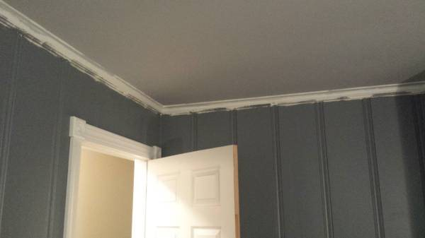 Need Crown Molding Hung  Cover Photo
