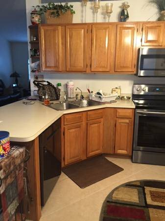 Sand And Repaint Kitchen Cabinets Cover Photo