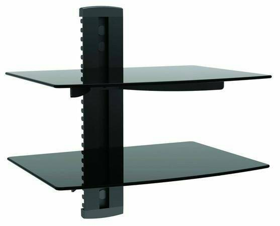 Remove TV On A Wall Mount And Shelf  Cover Photo