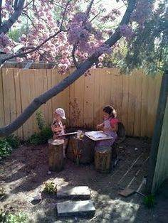 Need Tree Stumps  etc for Outdoor Play Cover Photo