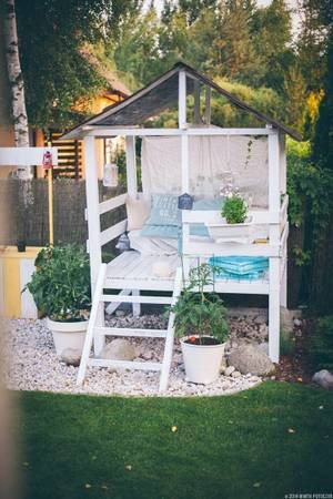 Want to Build a Small Play House in the Backyard Cover Photo