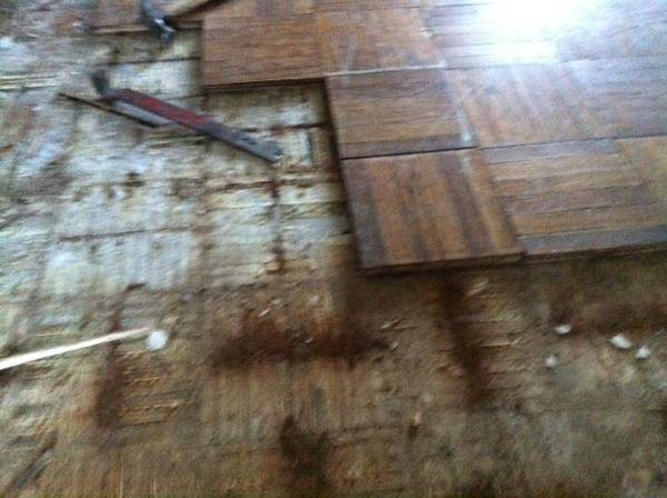 Wood Floor Cover Photo