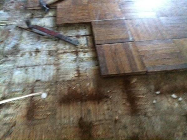 Wood Floor Cover Photo