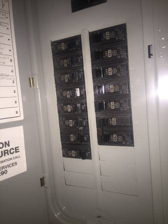 Electrician Needed to Install Circuit Breaker Cover Photo