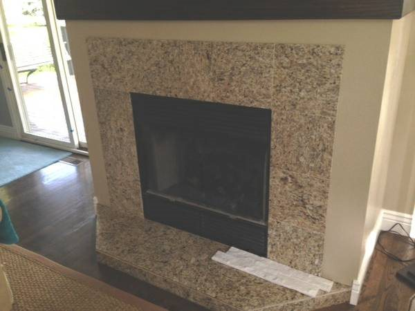 Fireplace Tile Cover Photo