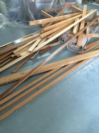 Remodel Trash  Framing  Shop Lights  Carpet Scraps   Cover Photo