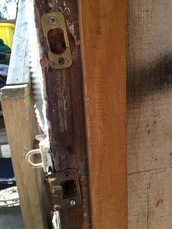 Carpenter Needed  Wood Door Replacement Cover Photo