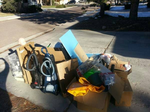 Need Pile of Household Stuff Hauled Away Cover Photo