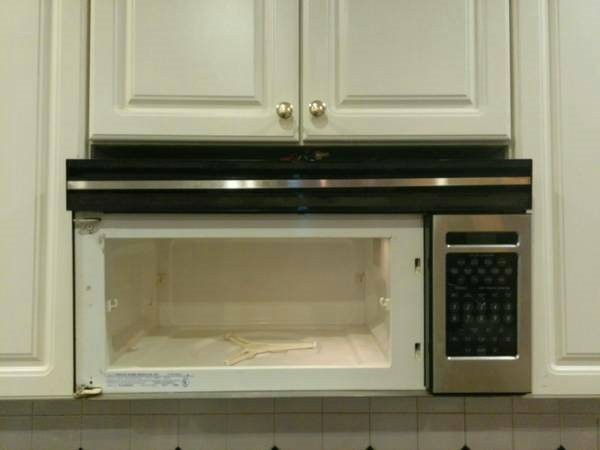 Microwave Removal and Installation Cover Photo