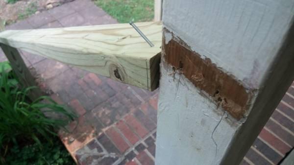 Porch Railing Rebuilding Cover Photo