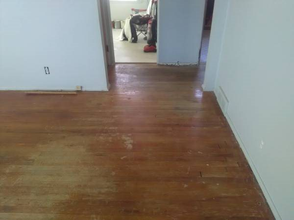 I Need Living Room Hardwood Floor Sanded Cover Photo