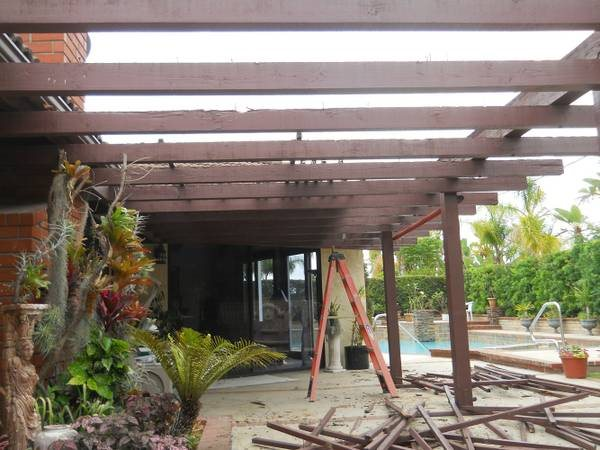 Frame Out Patio Cover Photo