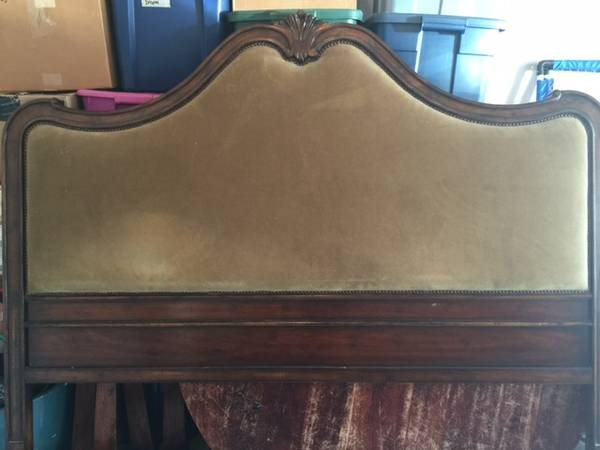 Need Upholstery Work - King Headboard And Footboard Cover Photo