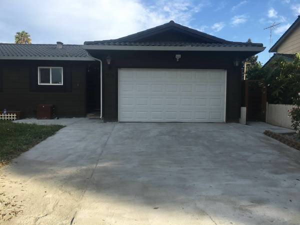Garage Front Concrete Converted Into Paver Stone Cover Photo