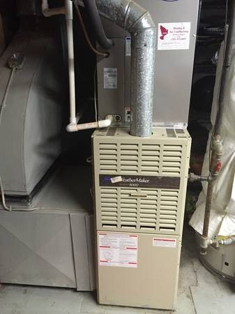 Replace Gas Furnace Cover Photo